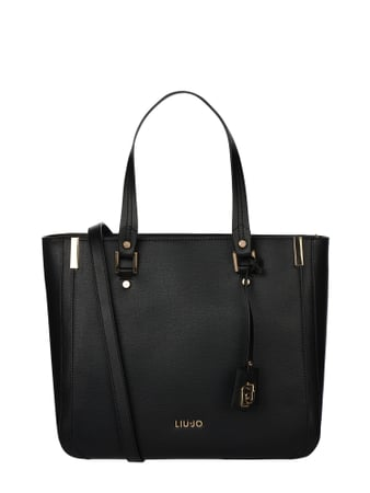 Liu Jo Jeans Shopper mit Logo-Applikation Schwarz - 1