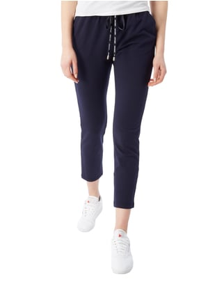 Liu Jo Jeans Sweatpants mit Stretch-Anteil Marineblau - 1