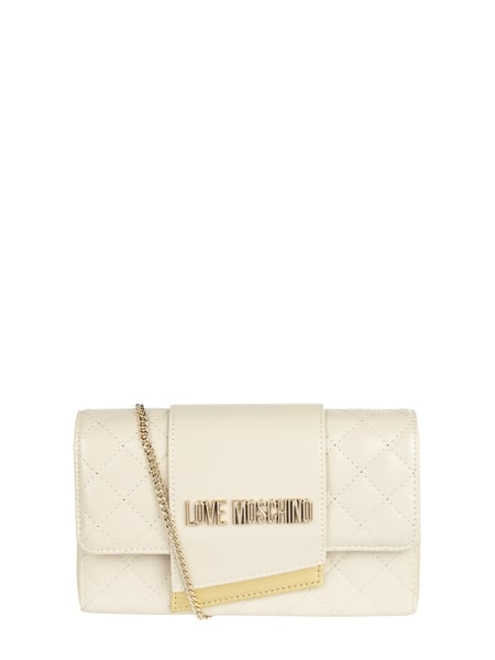 Love Moschino Crossbody Bag mit Kettenriemen Weiß - 1