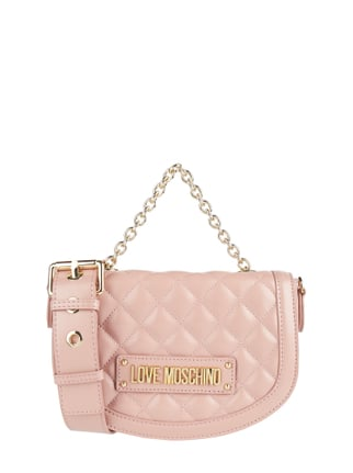 ce513562675f2 Love Moschino Crossbody Bag mit Kettenriemen Rosé - 1 ...