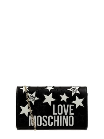 Love Moschino Crossbody Bag mit Logo-Details Schwarz - 1