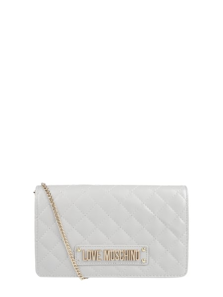 Love Moschino Crossbody Bag mit Steppnähten Grau - 1