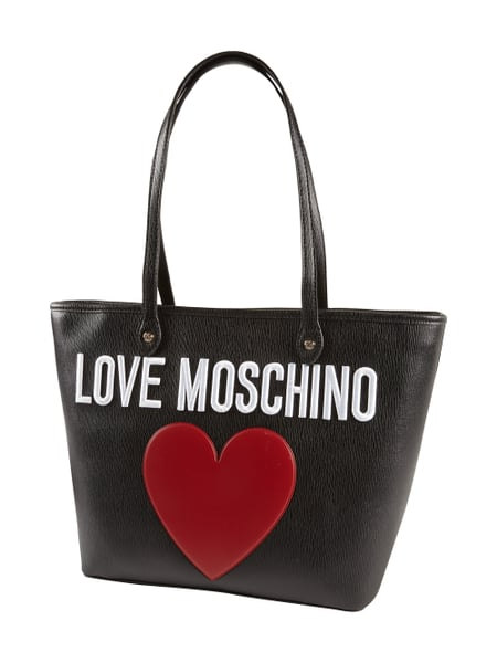 Shopper mit Logo-Applikation Love Moschino