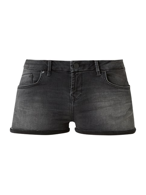 0709c51168d9 Judie - Stone Washed Skinny Fit Jeansshorts