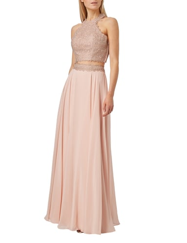 Luxuar Abendkleid im Rock-Top-Look Rosé - 1