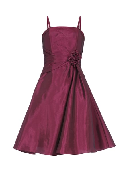 Luxuar cocktailkleid fuchsia