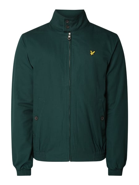 Lyle & Scott Blouson mit Logo-Badge Grün - 1