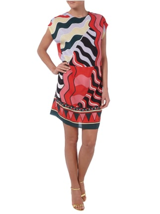 M Missoni Kleid mit Allover-Muster in Rot - 1