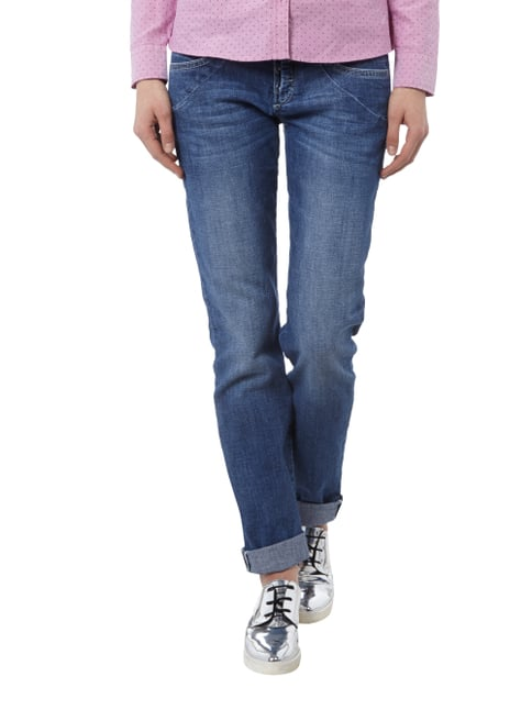 MAC 5-Pocket-Jeans im Stone Washed-Look Jeans meliert - 1