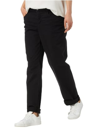 MAC Coloured 5-Pocket-Jeans Schwarz - 1