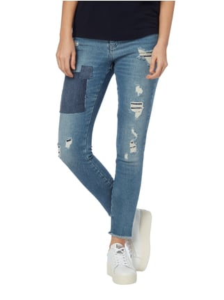 MAC Skinny Fit Jeans im Destroyed & Repaired Look Jeans - 1