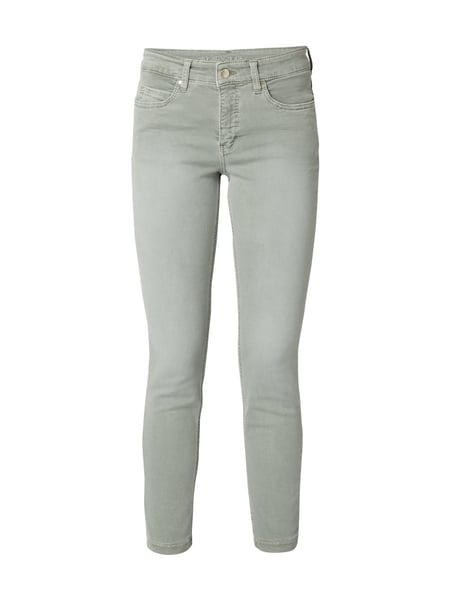 MAC Dream Skinny - Skinny Fit Jeans im Washed Out Look Khaki