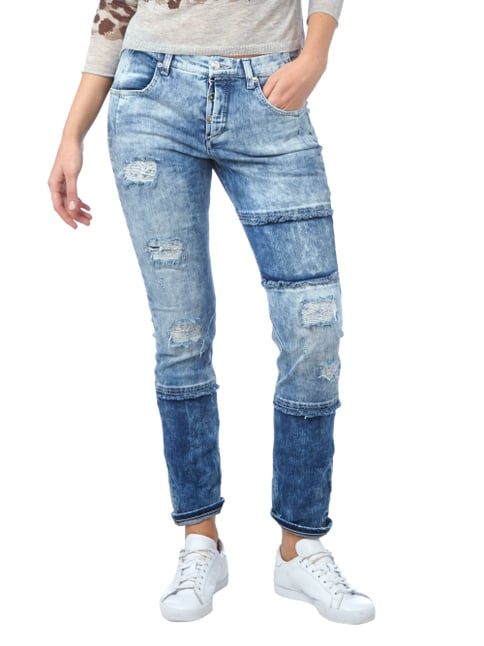 MAC Slim Fit Jeans im Destroyed Look Jeans - 1