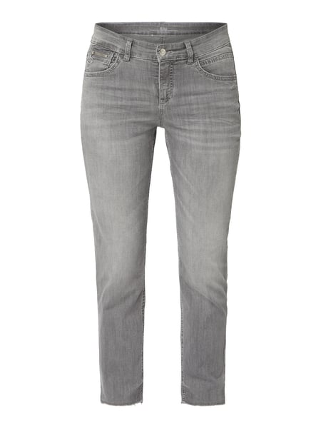 MAC Slim Fit Jeans mit Stretch-Anteil Grau - 1