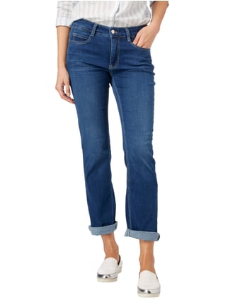 MAC Stone Washed 5-Pocket-Jeans mit Stretch-Anteil Jeans meliert - 1