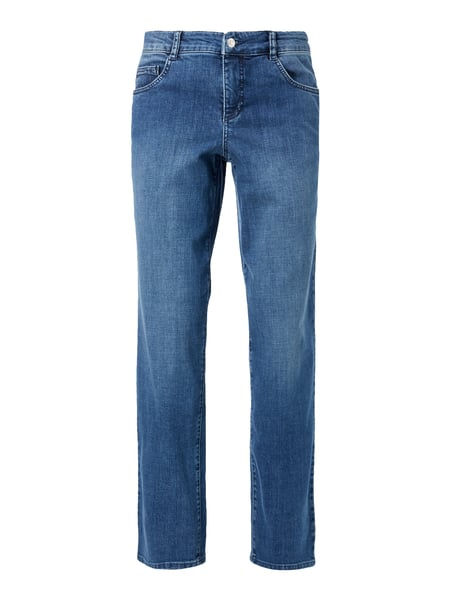 MAC Stone Washed Feminine Fit 5-Pocket-Jeans Blau / Türkis - 1