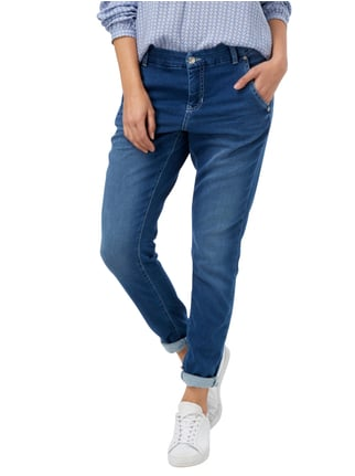 MAC Stone Washed Slim Fit Jeans Jeans meliert - 1