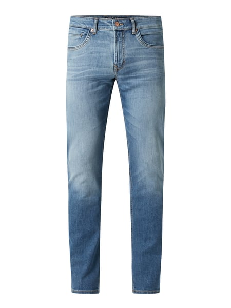 MAC Straight Fit Jeans mit Stretch-Anteil Modell 'Arne Pipe' Blau - 1