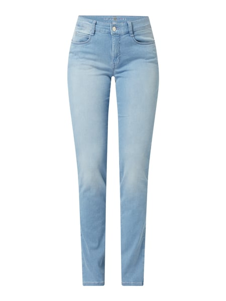MAC Straight Fit Jeans mit Stretch-Anteil Modell 'Dream' Blau - 1
