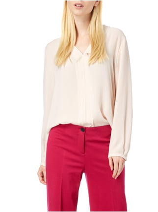 Marc Cain Collections Blusenshirt mit Zierborte Hellrosa - 1