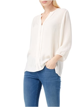 Marc Cain Collections Blusenshirt mit Zierborte Offwhite - 1