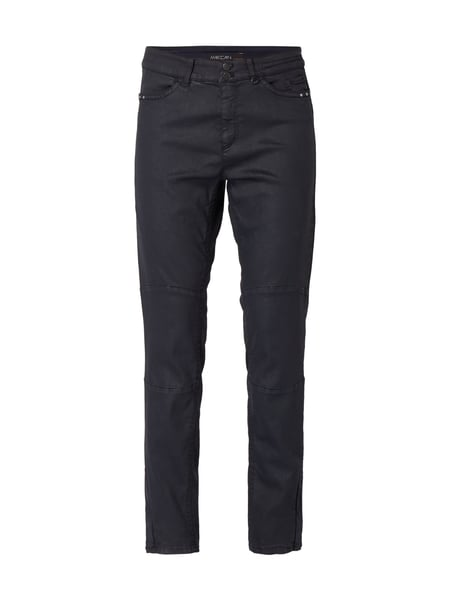 Marc Cain Coated Skinny Fit Jeans Marineblau