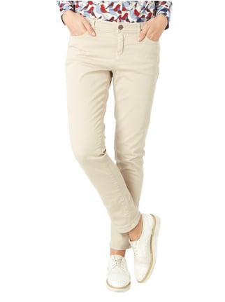 Marc Cain Additions Coloured Jeans mit Ziersteinbesatz Stein - 1
