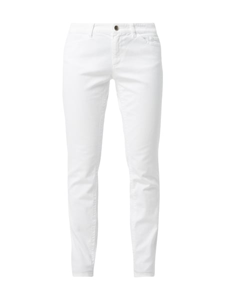 Marc Cain Coloured Skinny Fit Jeans Weiß