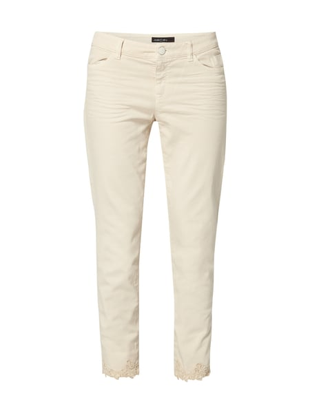 Marc Cain Coloured Slim Fit 5-Pocket-Jeans Sand