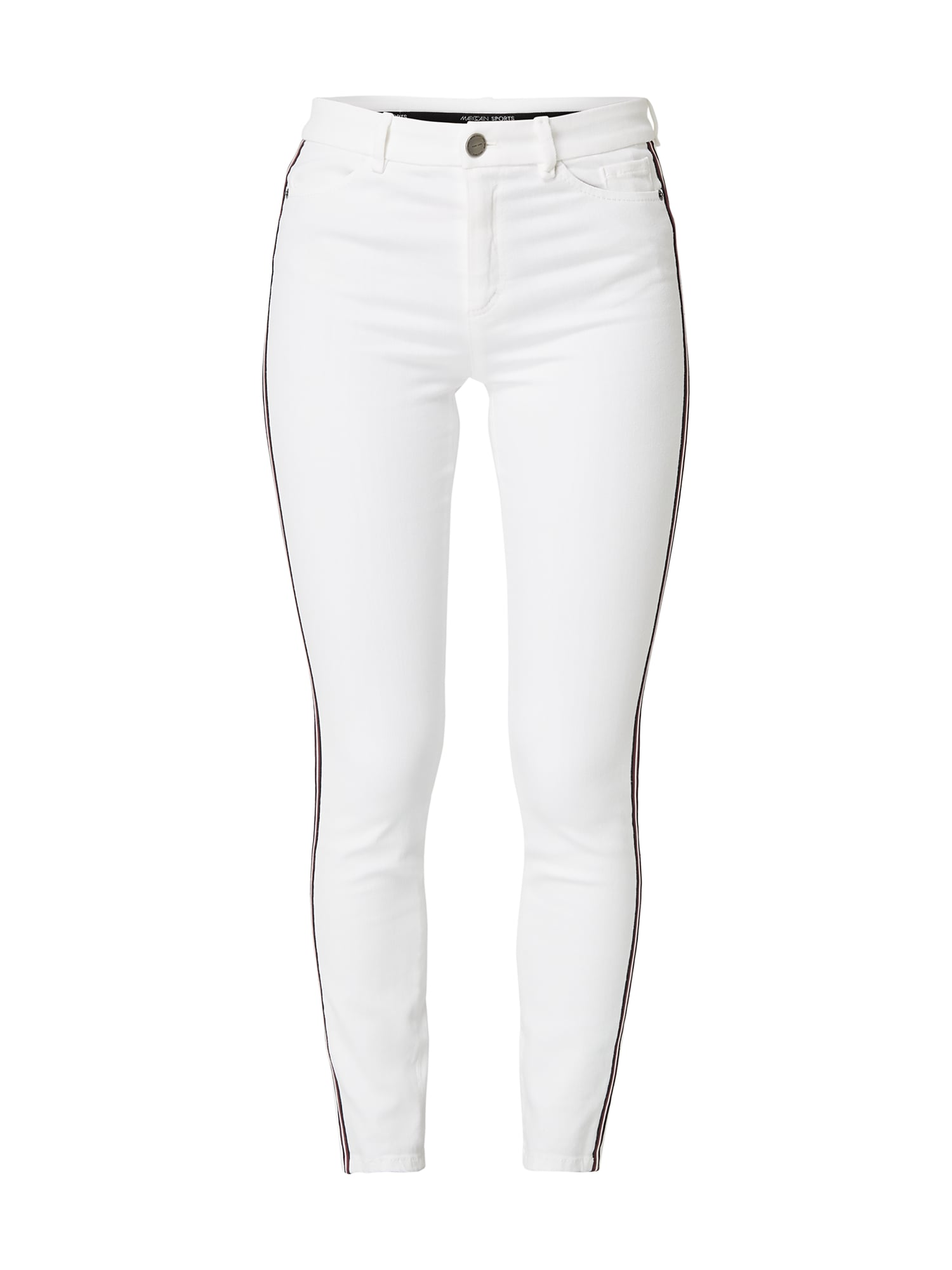 Marc Cain – Coloured Super Skinny Fit Jeans – Offwhite