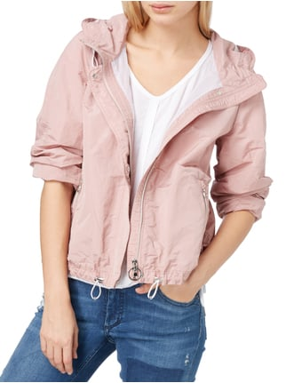 Marc Cain Collections Jacke mit Kapuze Rosa - 1