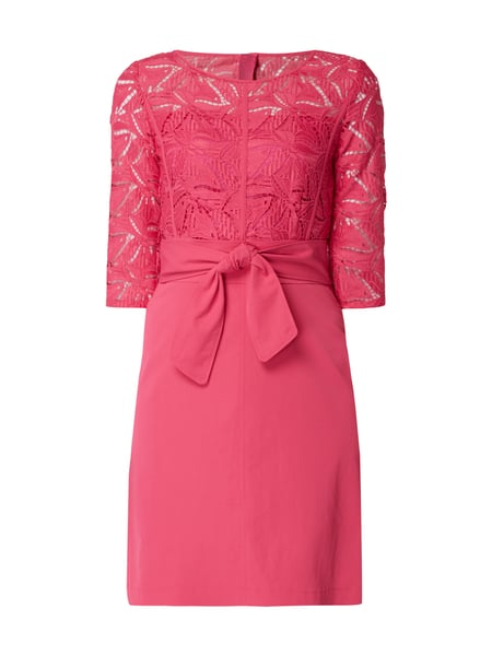Marc cain kleid rot spitze