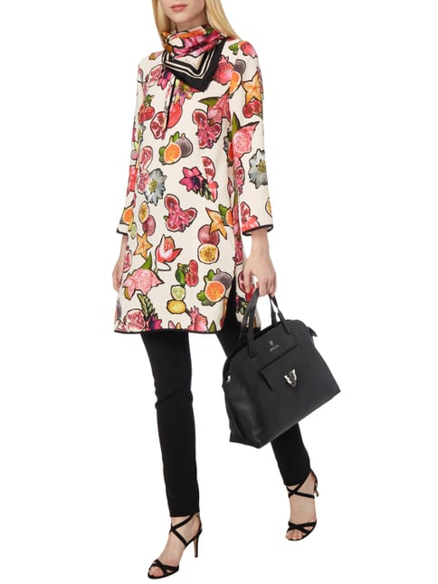 Marc Cain Kleid mit Obst-Print in Lila - 1