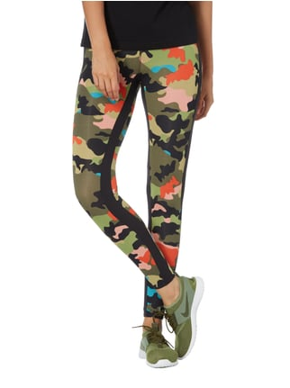 Marc Cain Leggings mit Camouflage-Muster Schwarz - 1