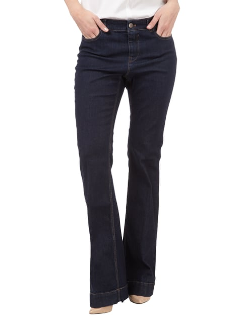 Marc Cain Additions One Washed Jeans im Flared Cut Jeans - 1