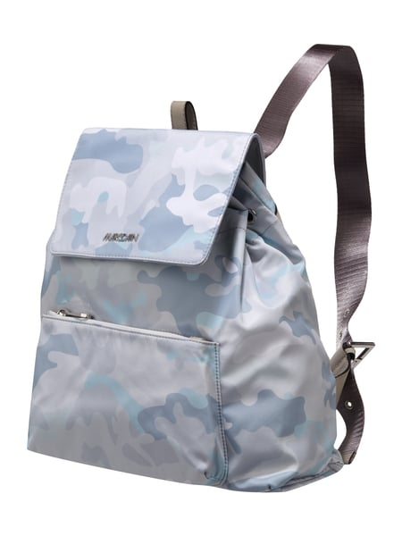 Marc Cain Bags & Shoes Rucksack mit Camouflage-Muster Mittelgrau