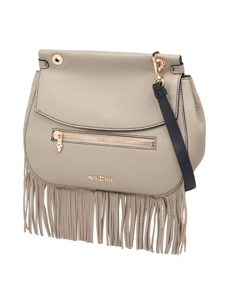 Marc Cain Saddle Bag mit Schulterriemen Beige - 1