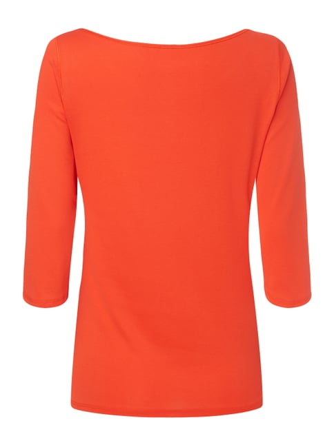 Marc Cain Shirt mit Dreiviertel-Ärmeln Orange - 1