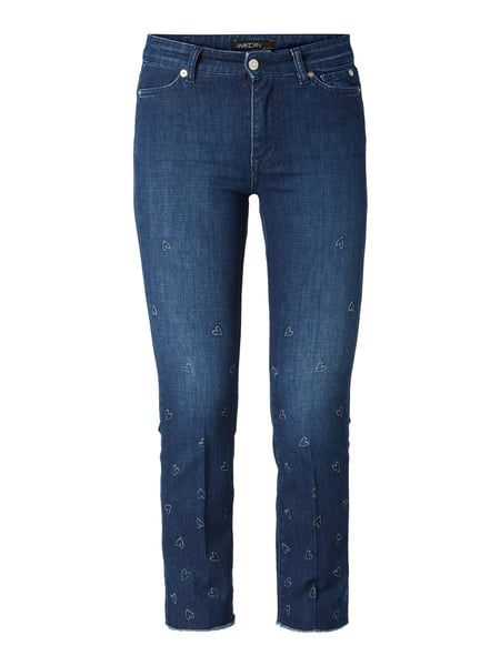 Marc Cain Slim Fit Jeans in 7/8-Länge Blau - 1