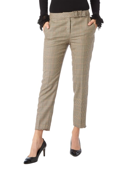 Marc Cain Collections Stoffhose aus Schurwollmischung Camel - 1