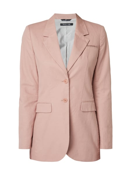 Marc O'Polo Blazer mit Kissing Buttons Mauve