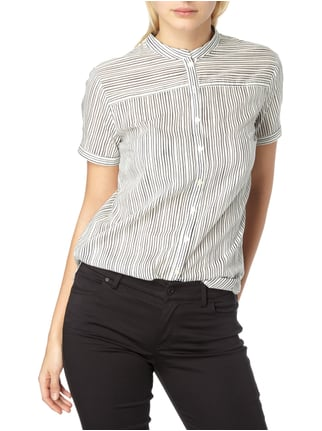 Marc O'Polo Bluse mit Allover-Muster Offwhite - 1