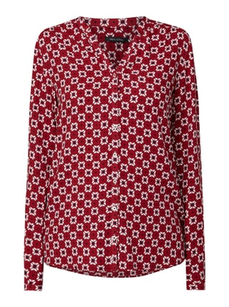 new style ade72 aed62 Marc O'Polo Bluse mit Allover-Muster