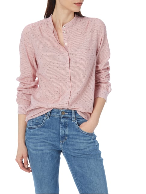 Marc O'Polo Bluse mit Allover-Muster Rot - 1