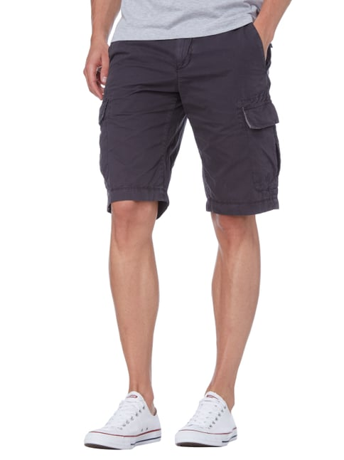 Marc O'Polo Cargobermudas im Washed Out Look Anthrazit - 1
