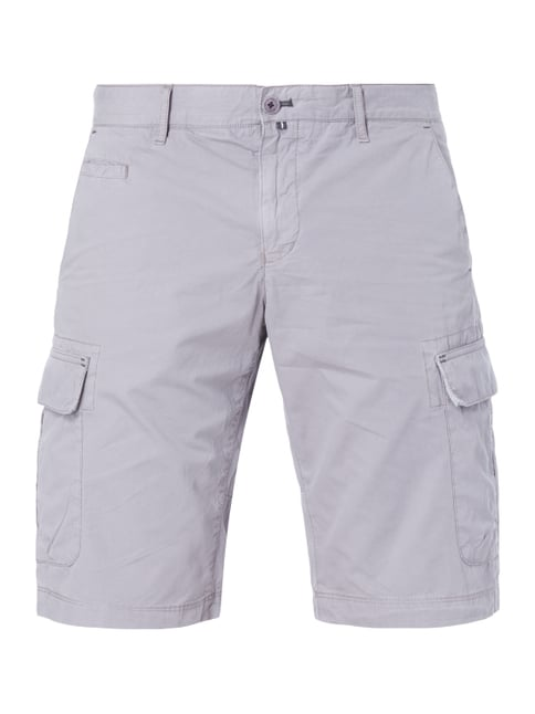Cargobermudas im Washed Out Look Grau / Schwarz - 1