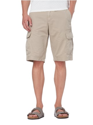 Marc O'Polo Cargobermudas im Washed Out Look Sand - 1