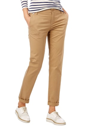 Marc O'Polo Chino mit Stretch-Anteil Camel - 1