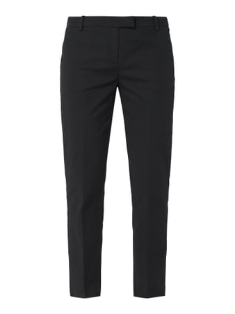 Marc O'Polo Cropped Chino mit Stretch-Anteil Schwarz - 1