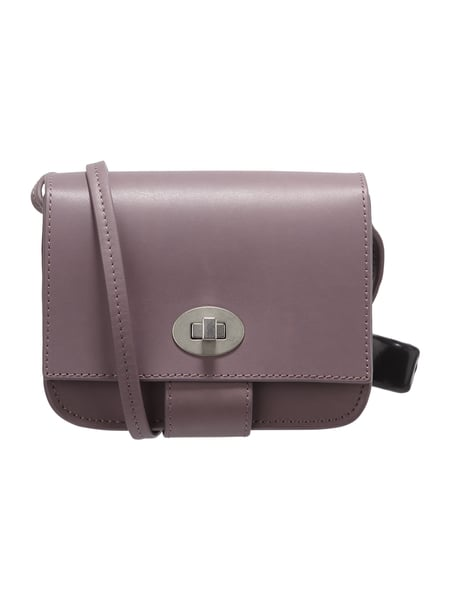 Marc O'Polo Crossbody Bag aus Leder Lavendel